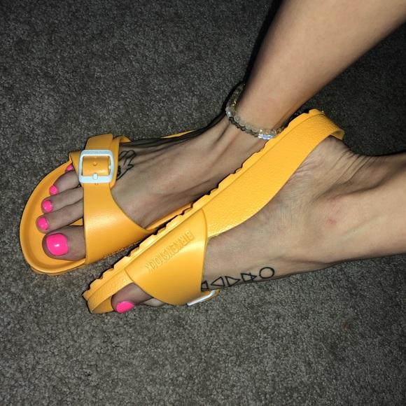 a5e435226f1 Birkenstock Shoes - Birkenstock EVA Madrid Yellow Sandals 36 6